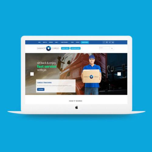 samady-cargo-website-design